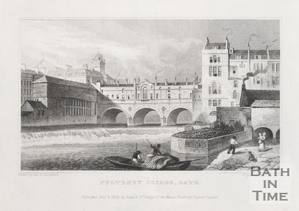 Pulteney Bridge Bath, July 4th 1829