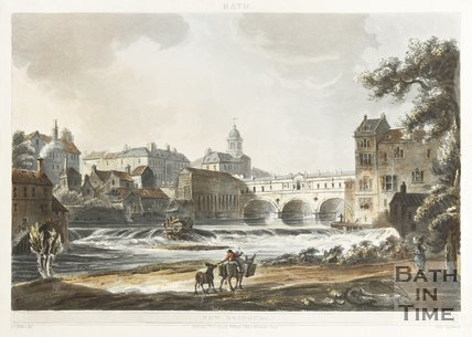 New Bridge at Bath, November 1804