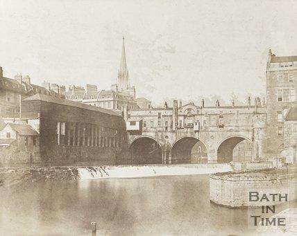 Photograph of Pulteney Bridge, Bath c.1850