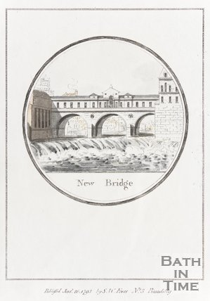 Pulteney Bridge, New Bridge January 26th 1793