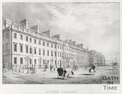 South Parade, Bath, 1830
