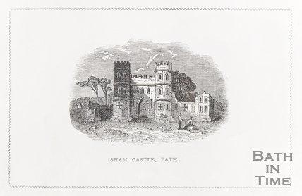 Sham Castle Bath, 1844