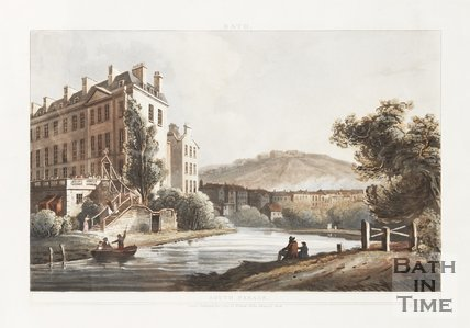 South Parade, Bath 1804
