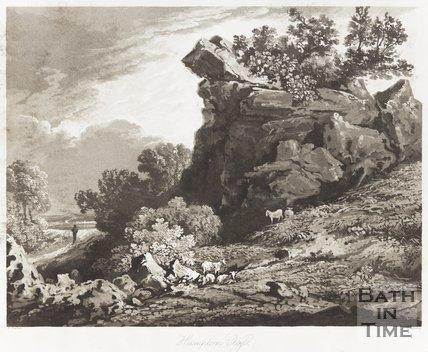Hampton Cliffs Near Bath