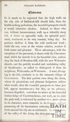 A Ramble about Old Bath
