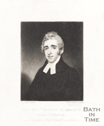 Revd. Harvey Merriott, Rector of Claverton and chaplain to Rt. Hon. Lord Kemyon