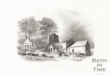 Claverton Church near Bath 1846