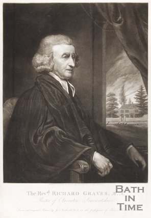 Revd. Richard Graves, M.A. Rector of Claverton Somersetshire September 13th 1800
