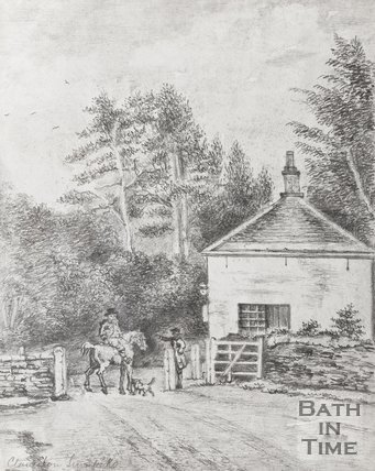 Pencil Sketch, Claverton Turnpike
