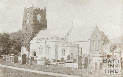 Photograph of Bathampton Church Exterior c.1870