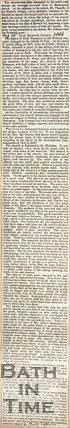 Trip to Bathampton Church, August 30th 1856
