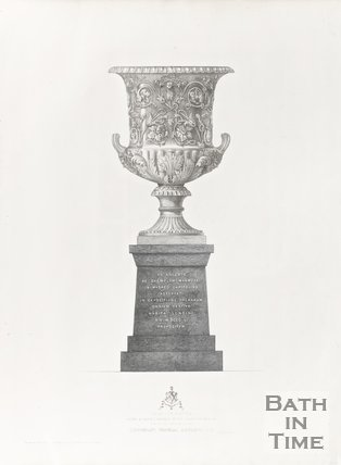 Vase in Silver after a Marble antique in the capitoline museum now in the possession of Lieutenant-General Andrews, C.B, 1858