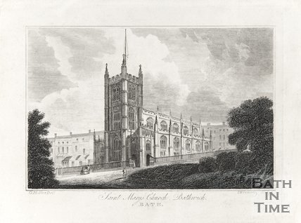 St. Marys Church Bathwick 1821