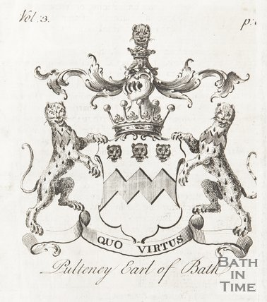 Coat of Arms of Pulteney, Earl of Bath