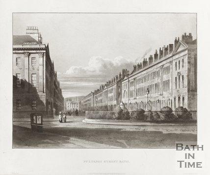 Pulteney Street Bath, January 1st 1820