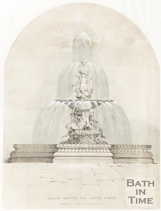 Design adopted for Laura Place Fountain.