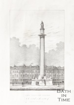 The Proposed Column to be erected in the centre of Laura Place