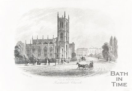 Bathwick Church 1850