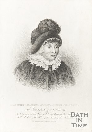 Engraving of Her most gracious Majesty Queen Charlotte, 1818