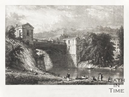 Bathwick Bridge 1830