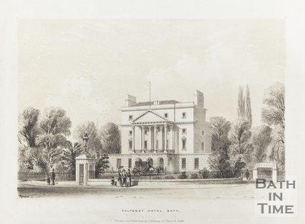 Pulteney Hotel Bath 1840