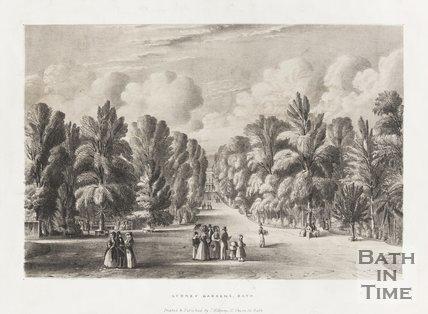 Sydney Gardens Bath, c.1840