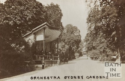 Photograph of Orchestra, Sydney Gardens, c.1870
