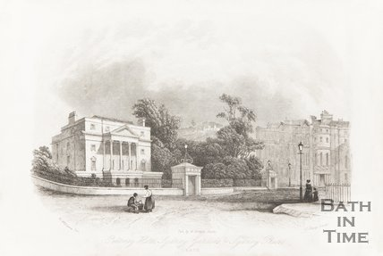 Pulteney Hotel, Sydney Gardens and Sydney Place, Bath 1844