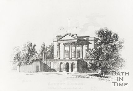 Engraving of Sydney House December 1st 1818