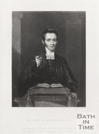 Engraving Revd. E. Tottenham M.A.