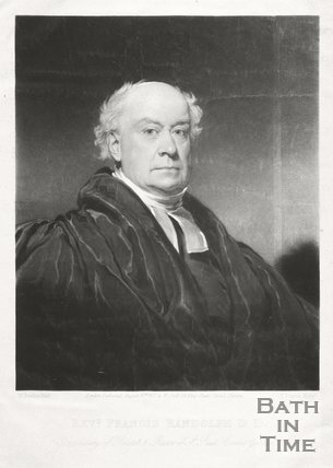 Portrait of Revd. Francis Randolph, D.D. Prebendary of Bristol and Rector of St. Paul Covent Garden