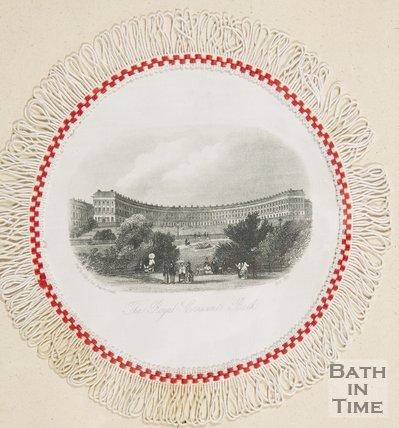 Royal Crescent Bath October 1871