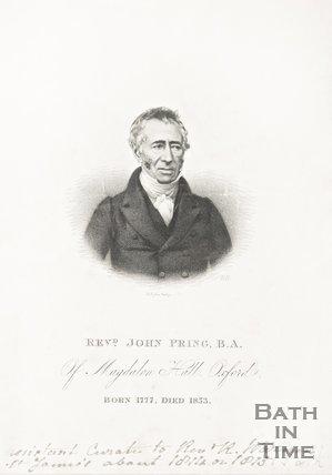 Revd. John Pring B.A, 1777-1853