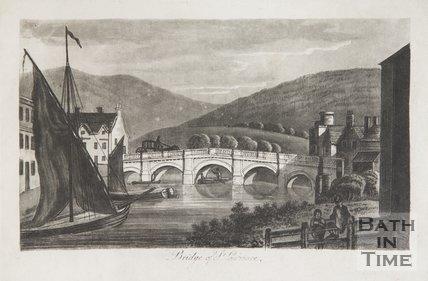 Bridge of St. Laurence 1792