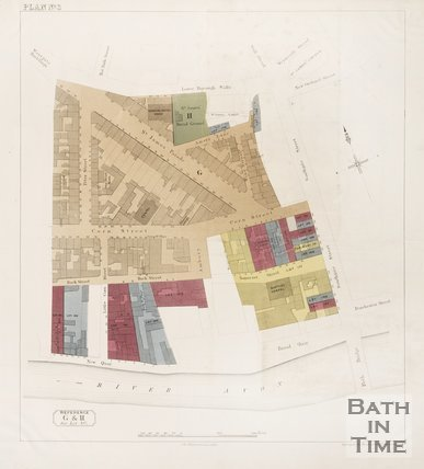 Coloured Plan of Southgate Area