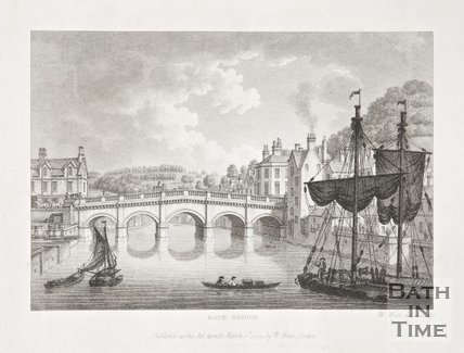 Engraving Bath Bridge 1794