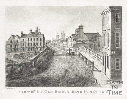 The Old Bridge Bath in May 1810