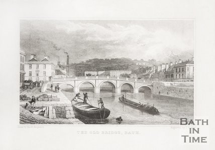 The Old Bridge Bath, 1828