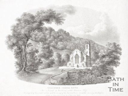 Widcombe Chapel Bath, 1832.