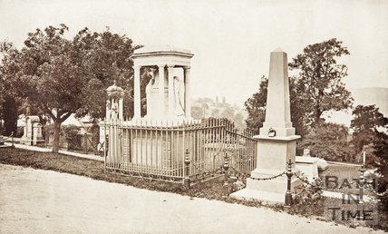 Bath Abbey Cemetery, c.1880.