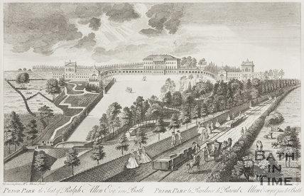 Prior Park, the Seat of Ralph Allen Esq, 1750.