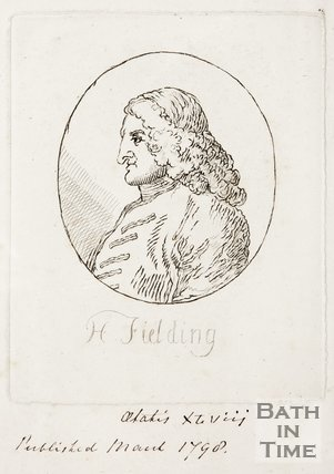Portrait of Henry Fielding, 1790s.