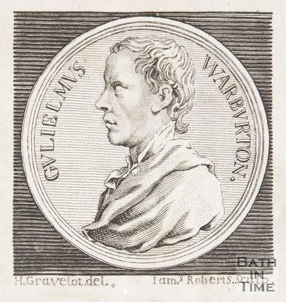 Portrait of Warburton.