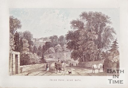 Prior Park near Bath c.1860.