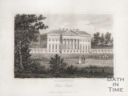 Prior Park, 1818