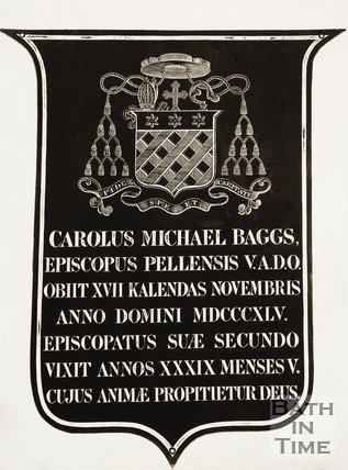 A memorial to Michael Baggs, 1845