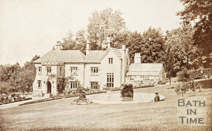 The Priory, Prior Park c.1870