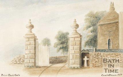 Prior Park Gate, Ralph Allen Drive, 1850