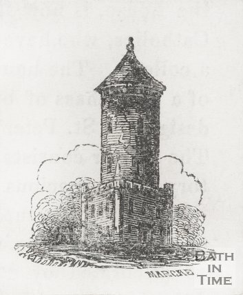 Temple of the Winds, Ralph Allens Monument, 1845