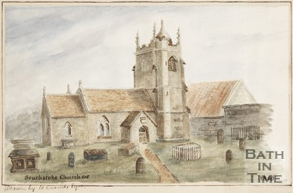 Southstoke Church 1850.